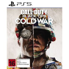 PS5 Call of Duty Black Ops: Cold War