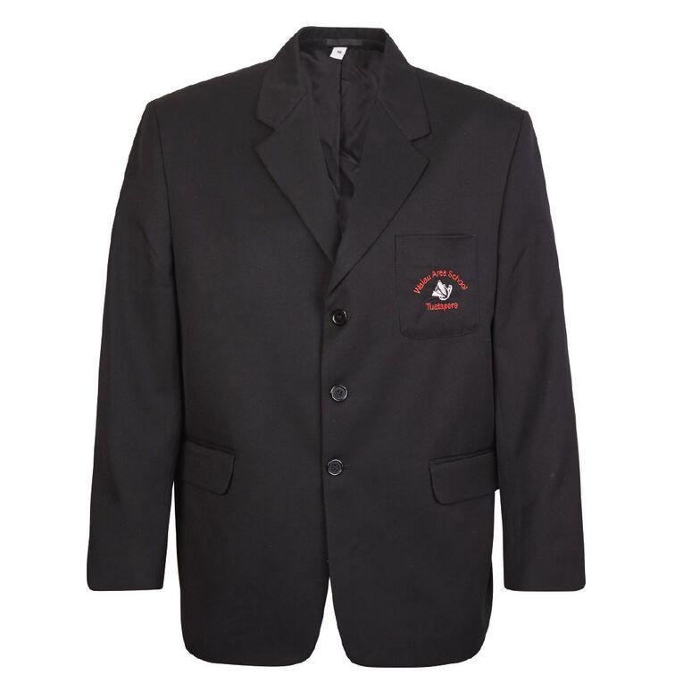 Schooltex Waiau Area Blazer with Embroidery, Black, hi-res