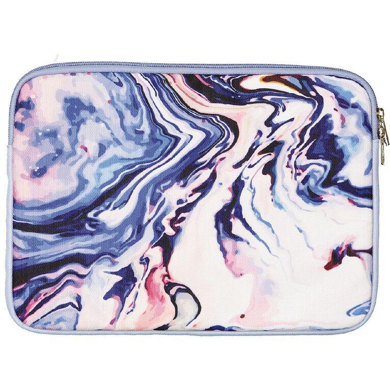 Positivity Notebook Sleeve 11in Swirl Blue, , hi-res