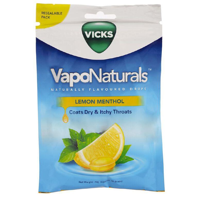 Vicks Vaponaturals Lemon Menthol 19s, , hi-res
