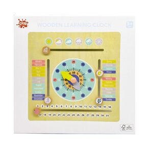 Play Studio Wooden Learning Clock