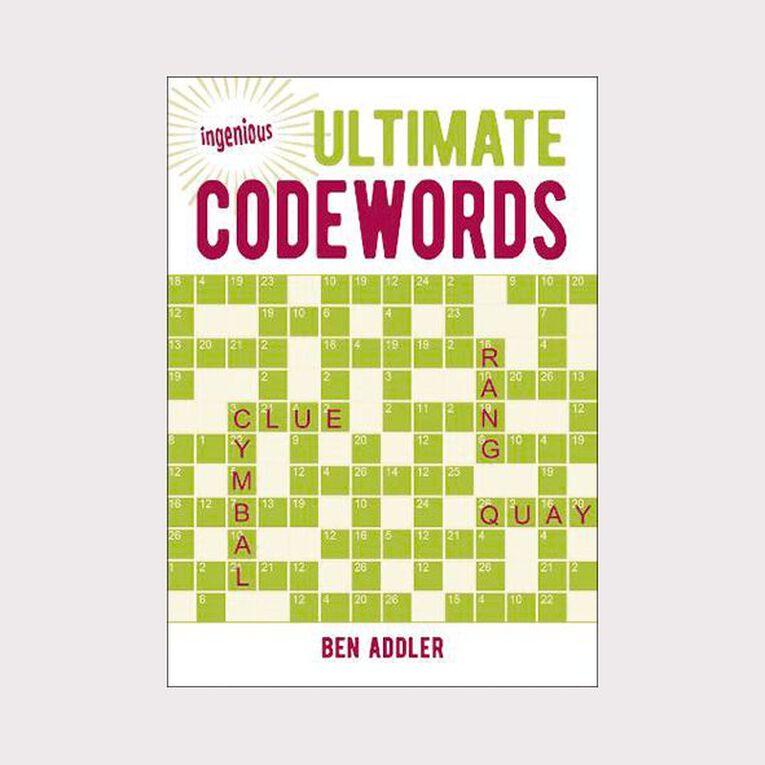 Ingenious Ultimate Codewords by Ben Addler, , hi-res