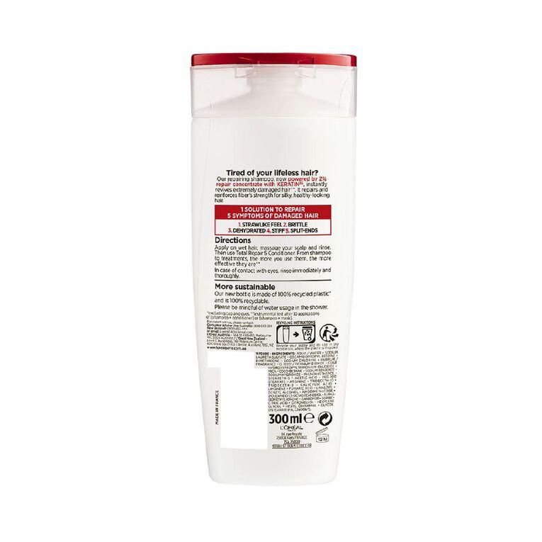 L'Oreal Paris Elvive Total Repair 5 Shampoo 300ml, , hi-res