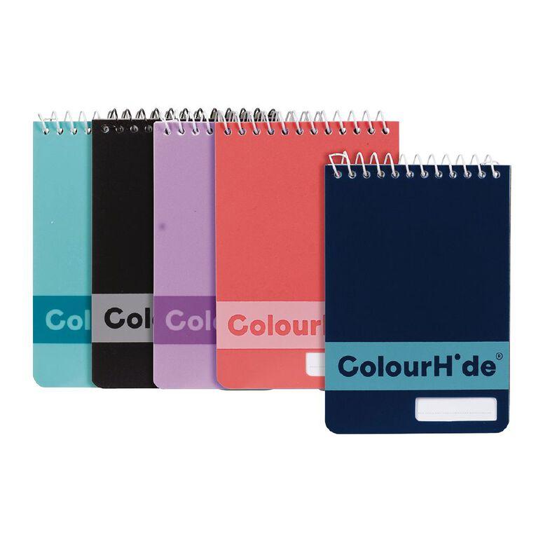 ColourHide My Pocket Notebook 96 Page 5 Pack, , hi-res