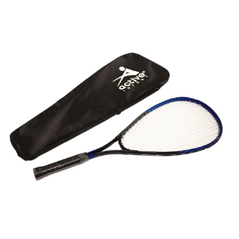 Active Intent Aluminium Squash Racket Blue Mid, , hi-res