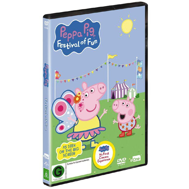 Peppa Pig Festival Of Fun DVD 1Disc, , hi-res
