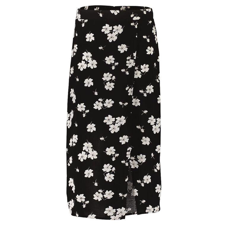 Young Original Midi Skirt, Black, hi-res