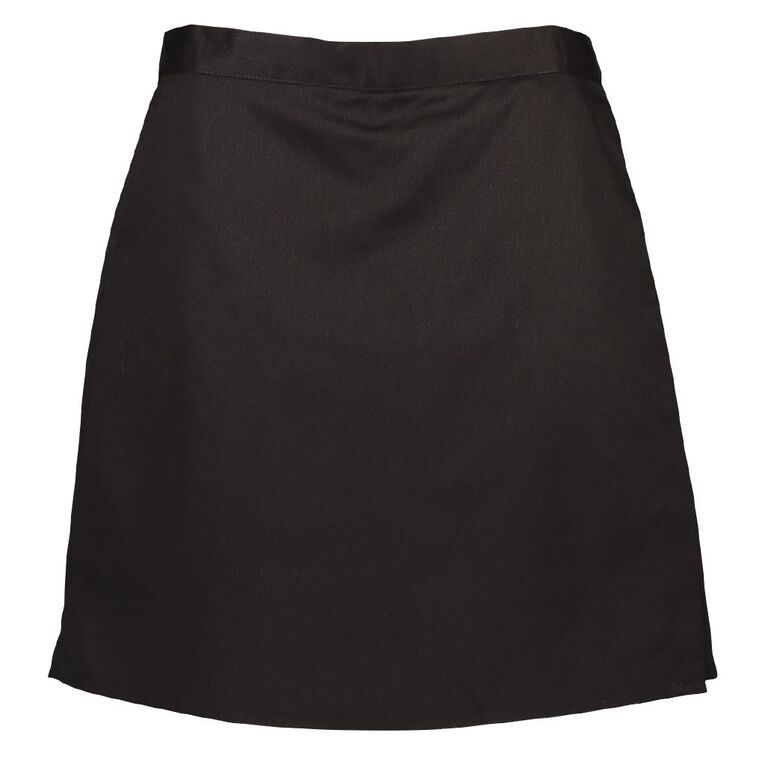 Schooltex Girls' Bib Front Skort, Black, hi-res