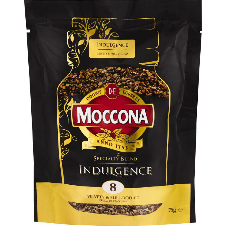 Moccona Coffee Freeze Dried Indulgence Refill 75g, , hi-res