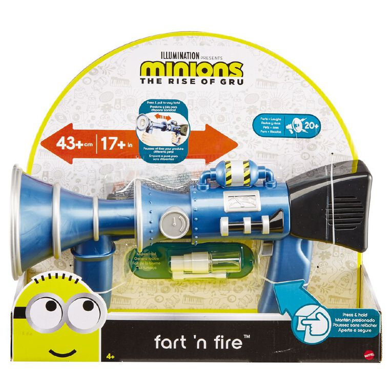Minions Super Shoot & Toot Fart Blaster, , hi-res
