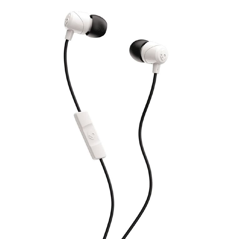 Skullcandy Jib Earbuds with Mic White, , hi-res