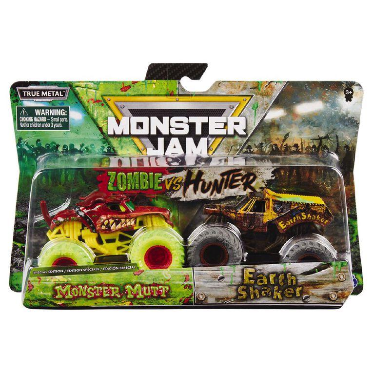Monster Jam 1:64 2pk Exclusive Zombie Glow in the Dark, , hi-res