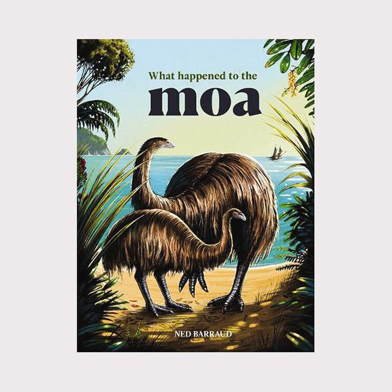 What happened to the Moa? by Ned Barraud, , hi-res