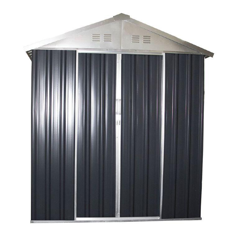Kiwi Garden Snaplock Shed 184L x 253W x 200H cm, , hi-res