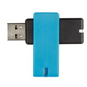 Tech.Inc 16GB USB Flash Drive Swivel Black/Blue