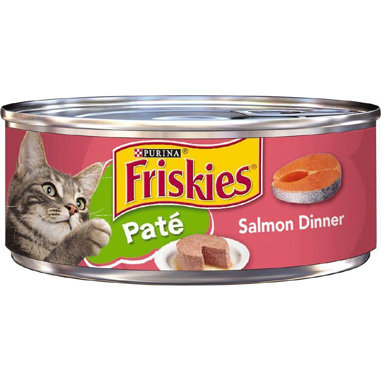 Friskies Classic Pate Salmon Dinner Wet Cat Food 156g, , hi-res