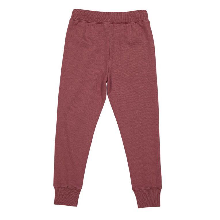 Young Original Printed Jogger Trackpants, Pink Dark, hi-res
