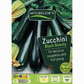 McGregor's Black Beauty Zucchini Vegetable Seeds