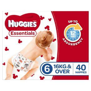 Huggies Essential Nappy Junior 40 pack