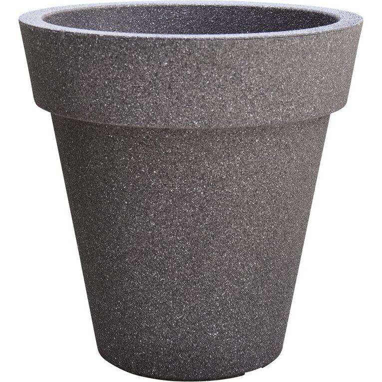 Kiwi Garden Sandstone Plastic Pot 30cm, , hi-res
