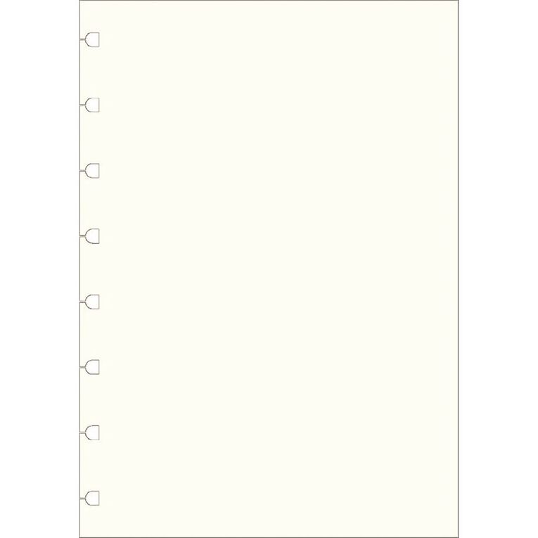 Filofax Notes White Plain 32 Sheet A5, , hi-res image number null