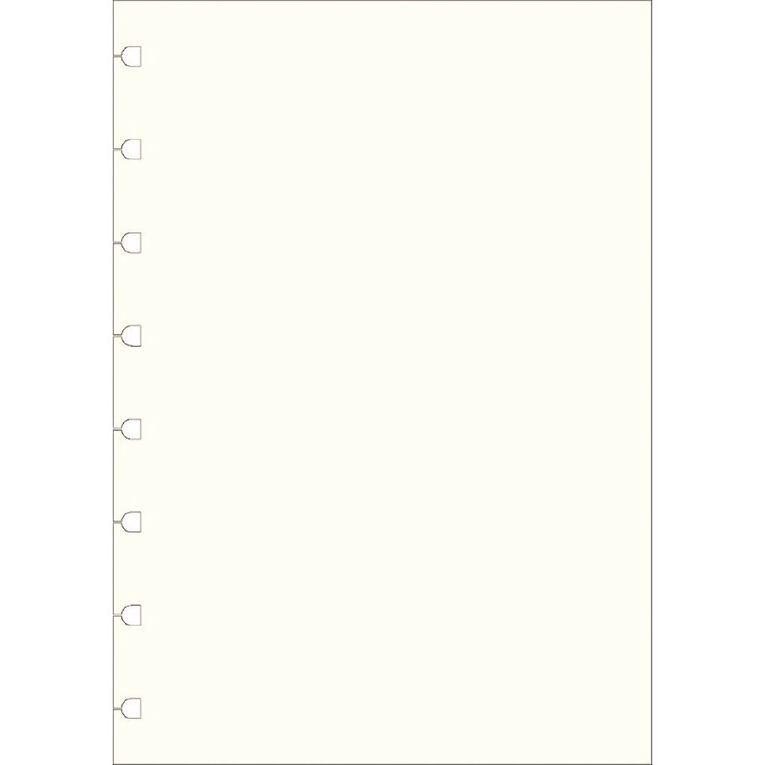 Filofax Notes White Plain 32 Sheet A5, , hi-res