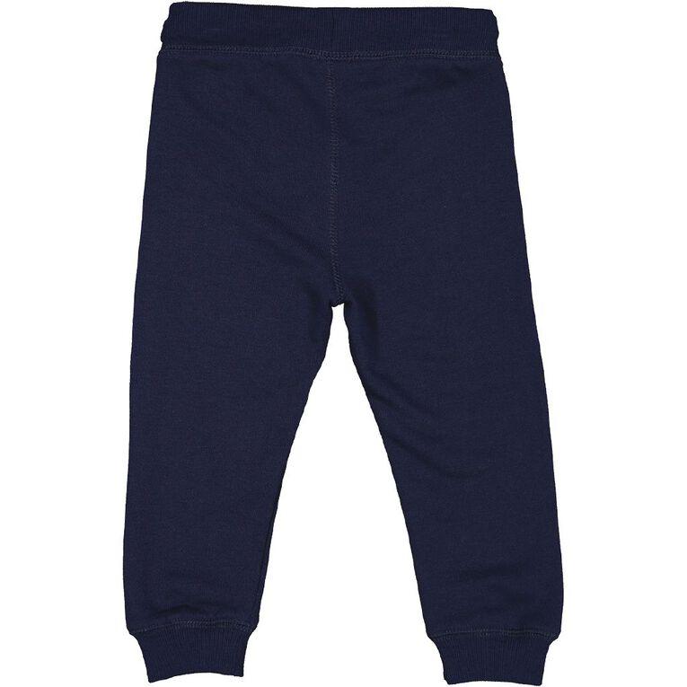 Young Original Toddler Printed Trackpants, Blue Dark, hi-res image number null
