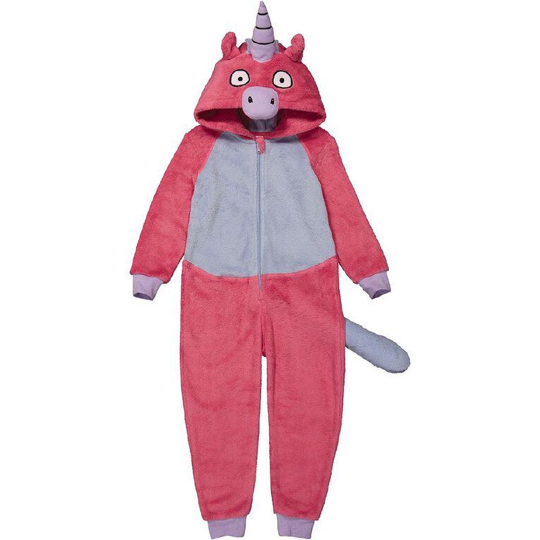 H&H Kids' Unicorn Onesie, Pink, hi-res