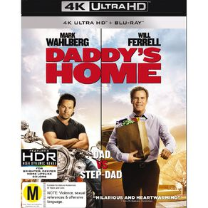 Daddys Home 4K Blu-ray 2Disc