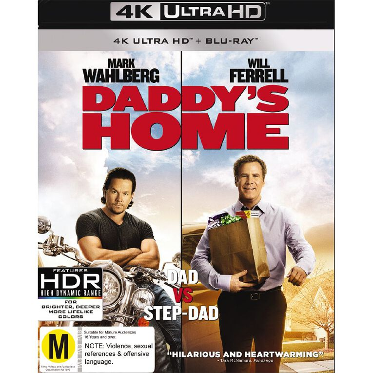 Daddys Home 4K Blu-ray 2Disc, , hi-res