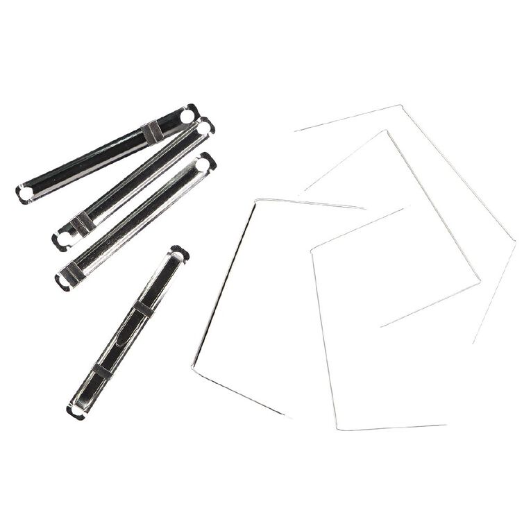 WS File Fasteners 80mm Prong 2 Pieces 50 Pack, , hi-res