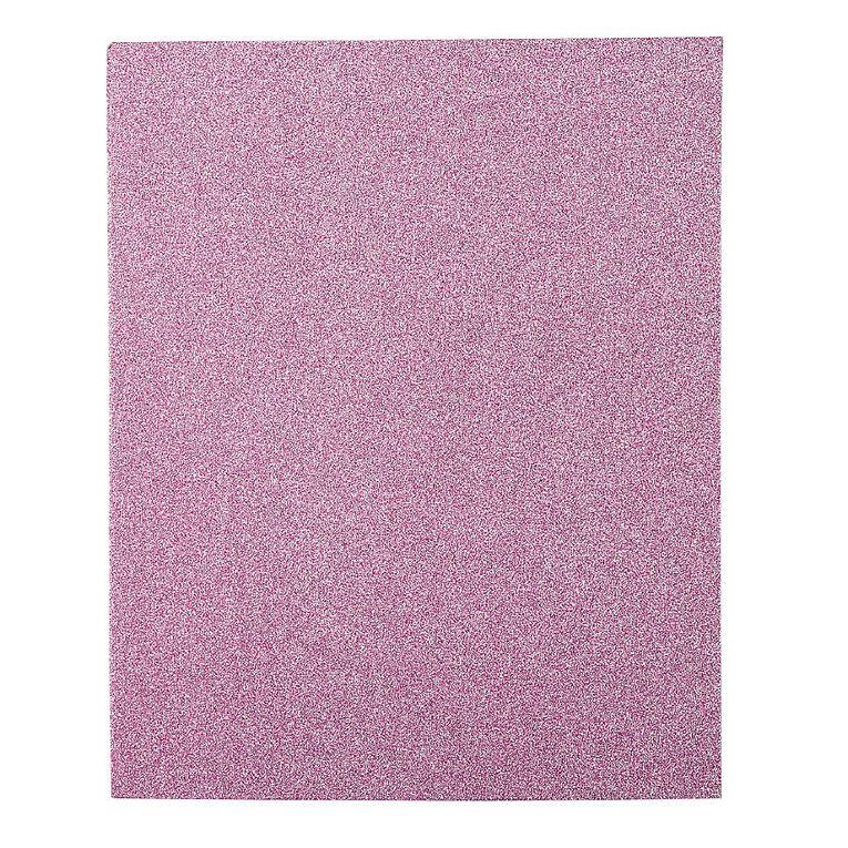 WS Book Cover Glitter Pink 45cm x 1m, , hi-res