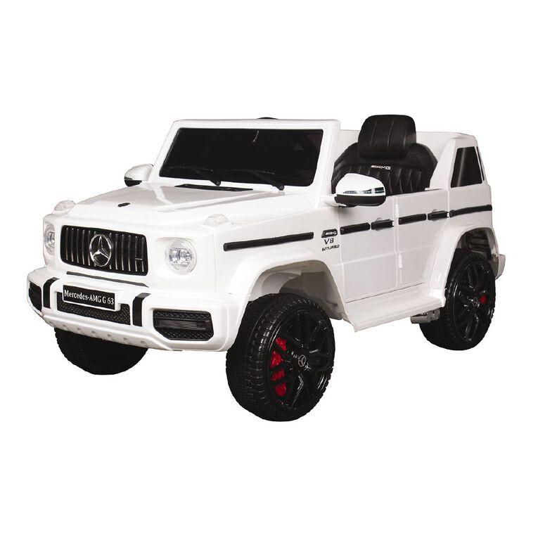 G Wagon SUV 12V White, , hi-res image number null