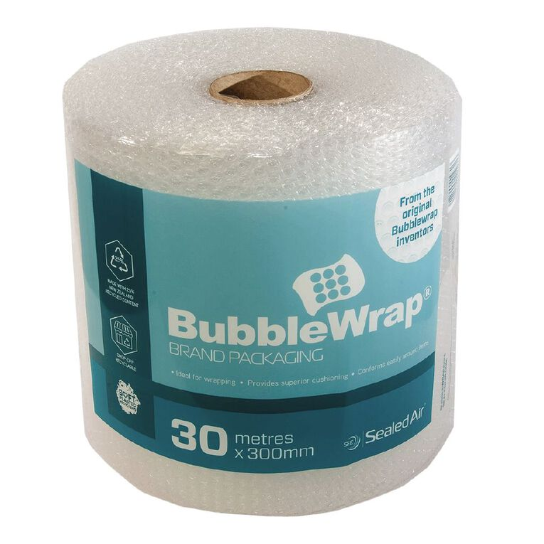 Sealed Air Recycled Bubble Wrap Roll 300Mm X 30M, , hi-res