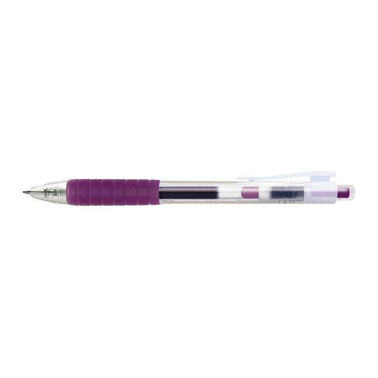 Faber-Castell Fast Gel Rollerball 0.7mm - Purple, , hi-res