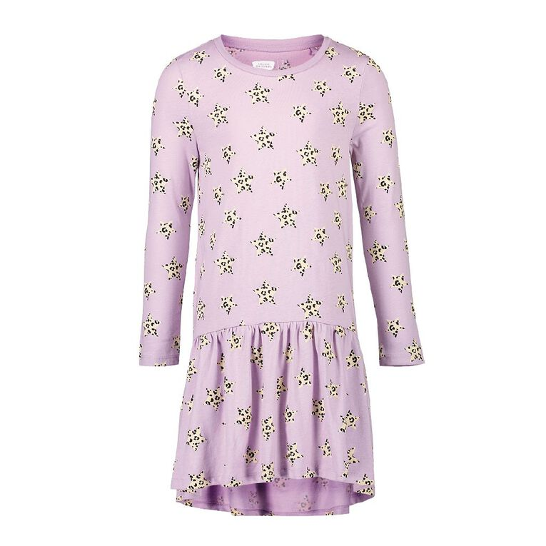 Young Original Milla Print Dress, Purple Light, hi-res