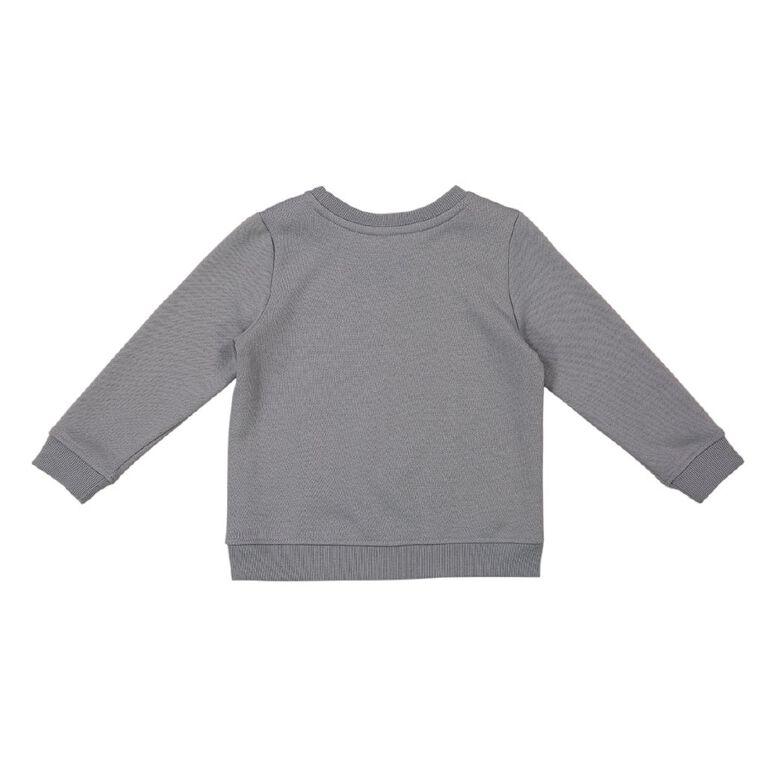Young Original Toddler Crew Neck Printed Sweatshirt, Blue Light, hi-res