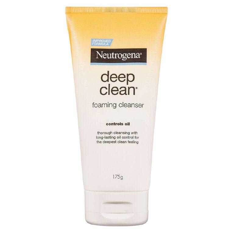 Neutrogena Deep Clean Foam Cleanser 175g, , hi-res
