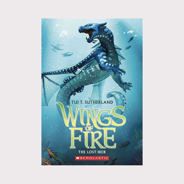 Wings of Fire #2 The Lost Heir by Tui T Sutherland, , hi-res