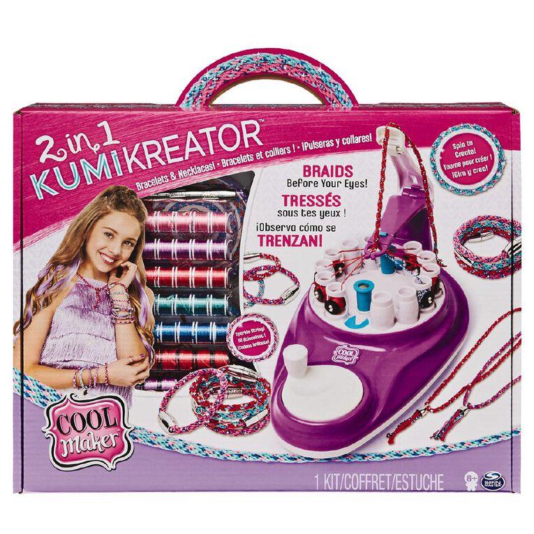 Cool Maker Cool Maker 2 in 1 Kumi Kreator, , hi-res