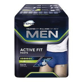 Tena Pants Men Active Fit Plus Medium 9 Pack
