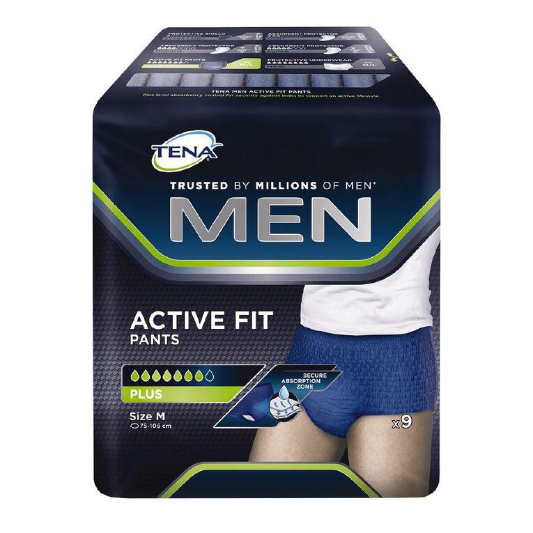 Tena Pants Men Active Fit Plus Medium 9 Pack, , hi-res