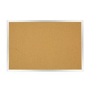 WS Aluminium Cork Board 600mm x 900mm