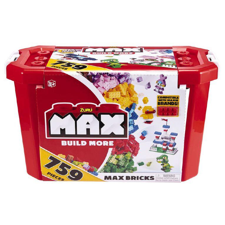 Zuru Max Build More Construction Value Brick Pack 759 Pieces, , hi-res