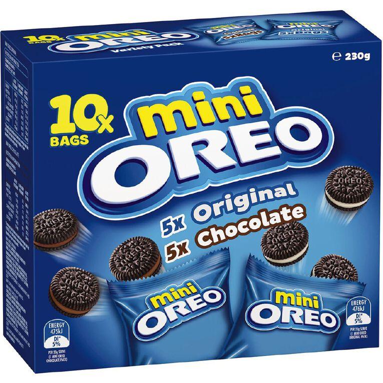 Oreo Mixed Mini Multipacks Van/Choc 230g, , hi-res