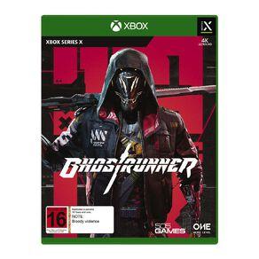 Xbox Series X Ghostrunner