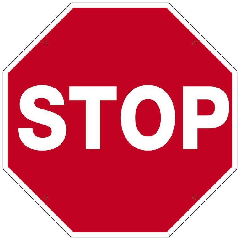 WS Stop Sign Small 340mm x 340mm, , hi-res