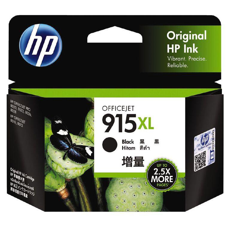 HP Ink 915XL Black (825 Pages), , hi-res