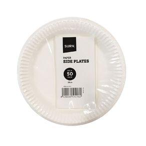 SURV. Paper Plates 18cm 50 Pack