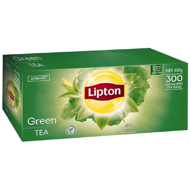 Lipton Green Tea Enveloped Tea Bags Box 300, , hi-res